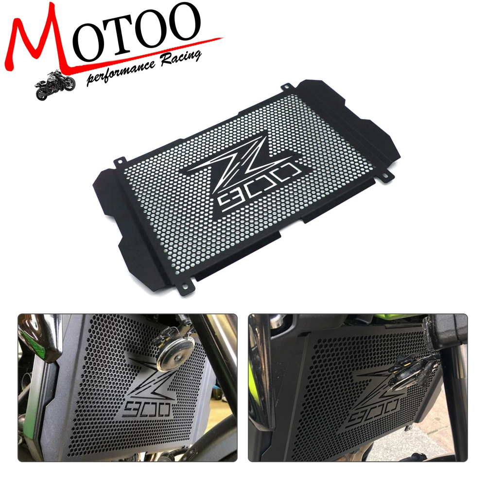 Motorcycle Accessories Radiator Grille Cover Guard Stainless Steel Protection Protetor For Kawasaki Z900 2017 2018 2019Motorcycle Accessories Radiator Grille Cover Guard Stainless Steel Protection Protetor For Kawasaki Z900 2017 2018 2019