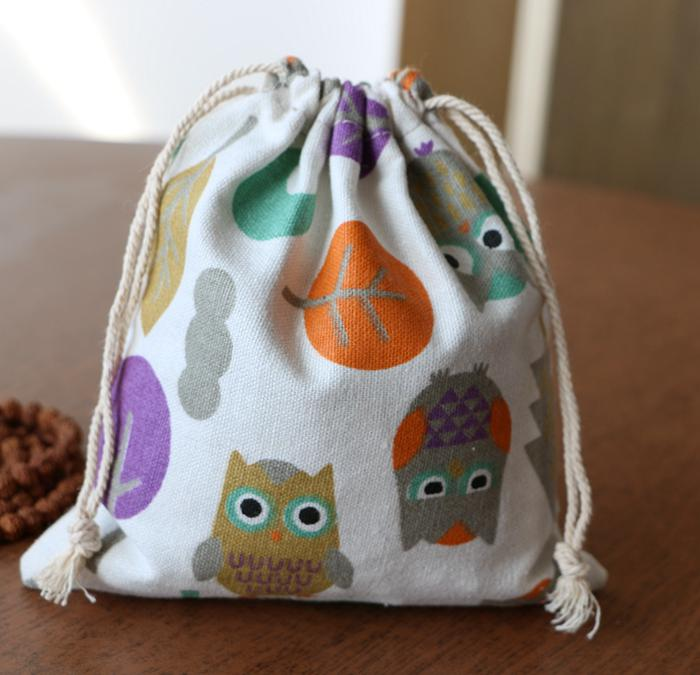 Drawstring Bags Provided Forudesigns Classic Drawstring Bag Little Baby Doll Kids Toys Storage Bag Travel Portable Mini Pouch Anime Flower Owl String Sac