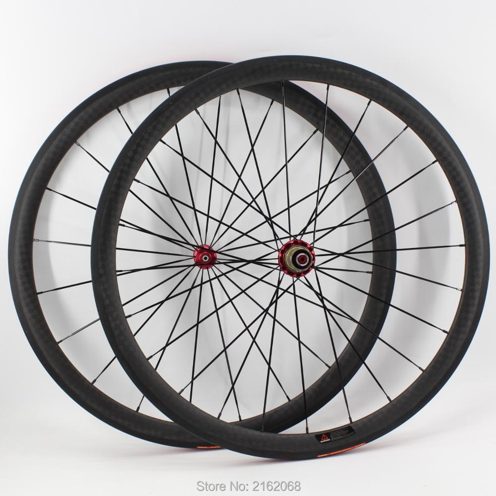 Newest OEM 700C 38mm tubular rims Road bicycle matt 12K full carbon fibre bike wheelsets hubs