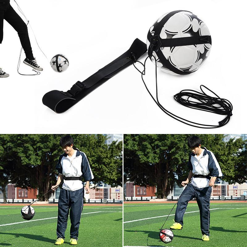 good quality cheap prise useful Soccer Football Kick Trainer Returning Training Belt Rebounder Sports Training Equipment