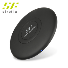 Siroflo Wireless Charger 10W Max Wireless Charging Pad, Compatible With Samsung Galaxy S8, S8 +, IPhone 8, IPhone 8 Plus