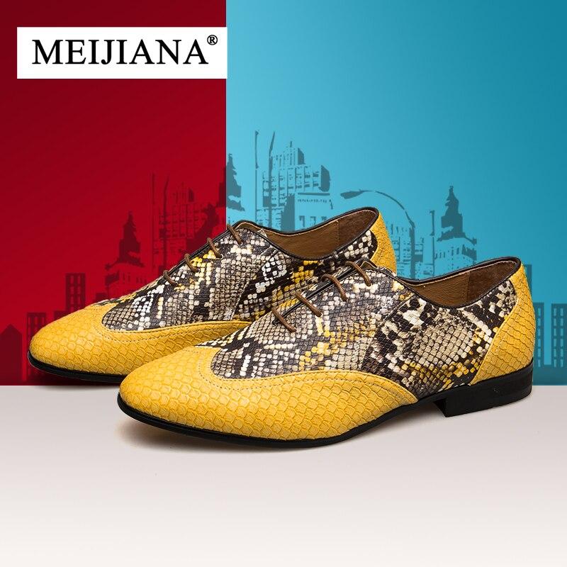 Dourado Dos Vestido Casamento Meijiana Apartamentos Primavera Sapatas De Marca Oxford Homens Sapatos Ouro Bx7qwa