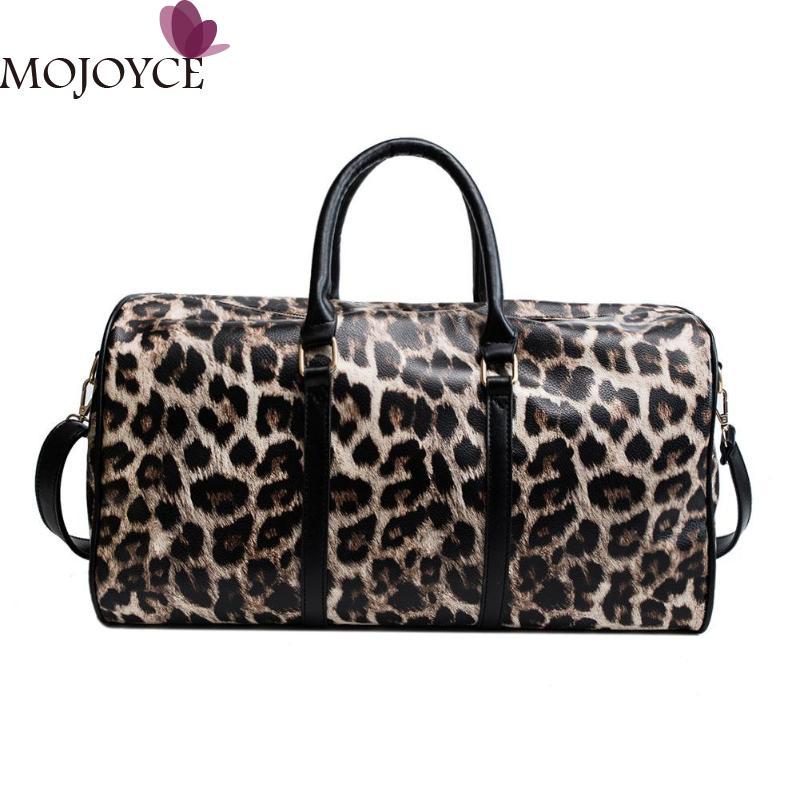 Fashion Wanita Selempang Macan Tutul Cetak Tas Bahu Kapasitas Besar Leopard  Selempang Perjalanan Tas Gadis Pu 6bc31f3f2d
