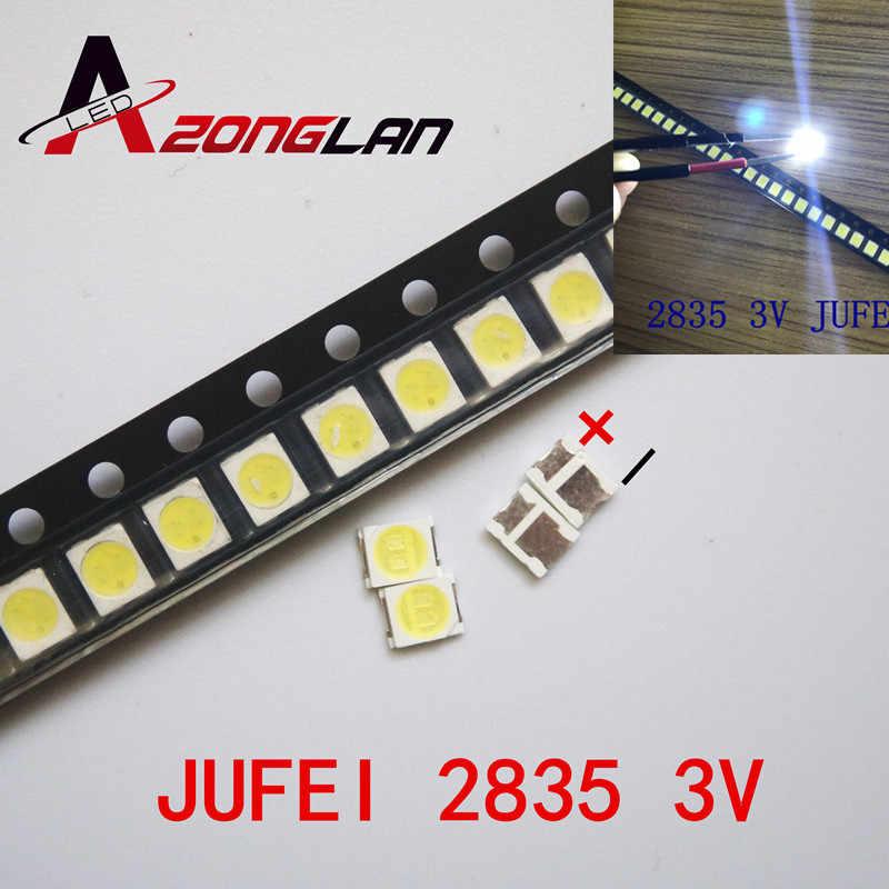 JUFEI LED الخلفية 1210 3528 2835 1 واط 3 فولت 84LM كول الأبيض LCD الخلفية لتطبيق التلفزيون التلفزيون 01. JT.2835BPW1-C 100 قطعة ل