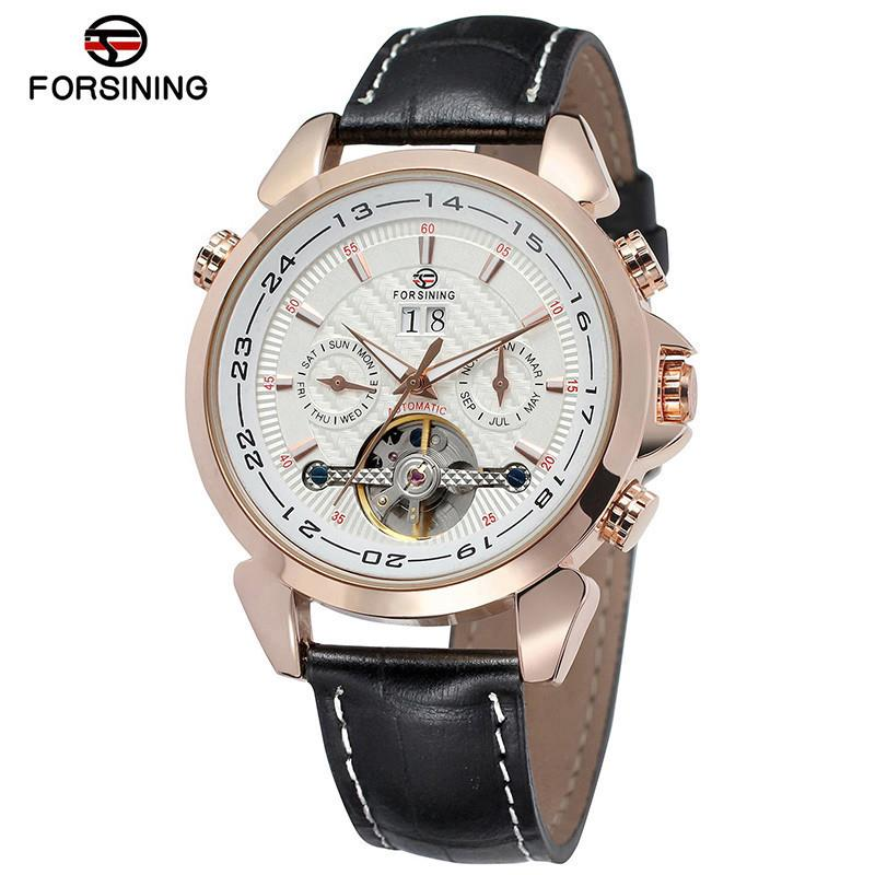Forsining 2019 Silver Skeleton Watches Fashion Hands Genuine Leather Mens Mechanical Wristwatch Waterproof ClockForsining 2019 Silver Skeleton Watches Fashion Hands Genuine Leather Mens Mechanical Wristwatch Waterproof Clock