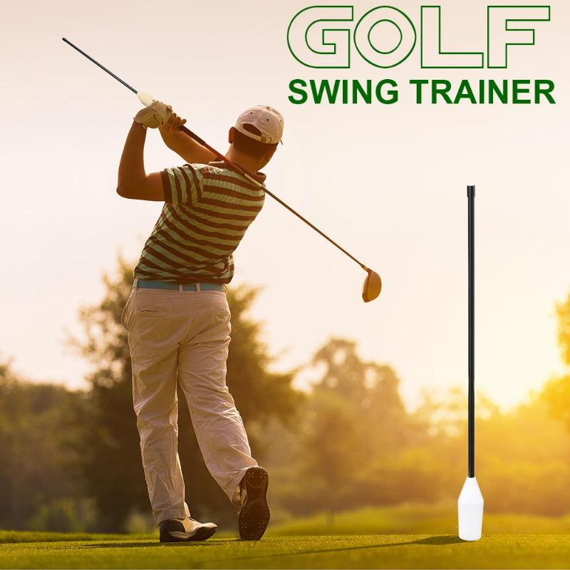 2019 New and Hot 1 PC 14.82 inch Golf Swing Trainer Beginner Gesture Alignment Correction Aids Golf Training Accessories