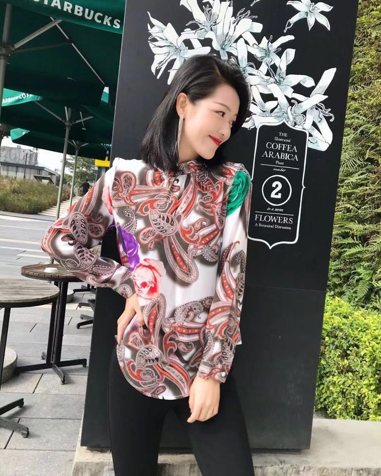 Europeo Las Lujo Fiesta La Diseño Marca Moda Ropa Mujer Camisas Estilo 2019 Mujeres Blusas Y De Wd01454 Pista wpRqx7Bwd