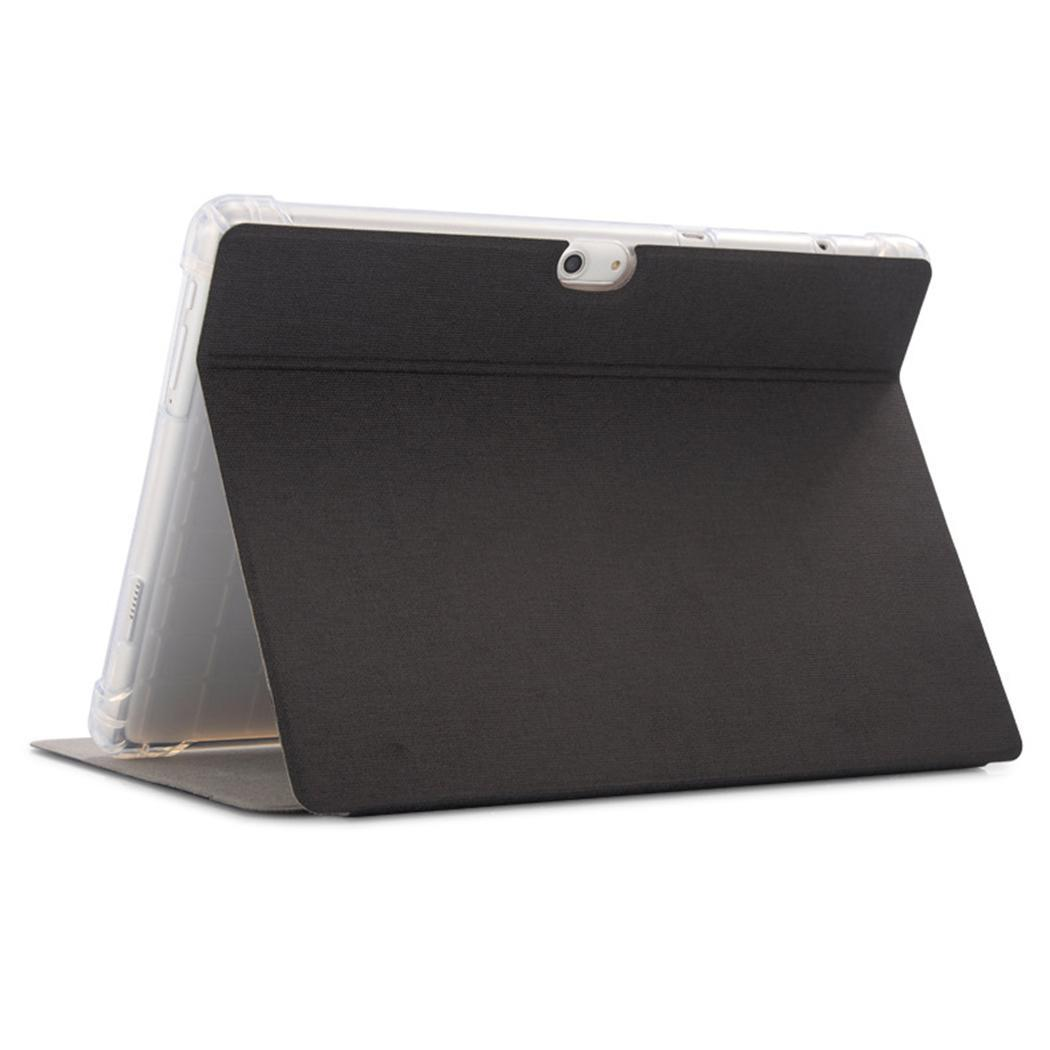Ultra-thin Soft Solid Dustproof Shockproof Tri-foldable Tablet Protective Dustproof, Case Flip Cover,