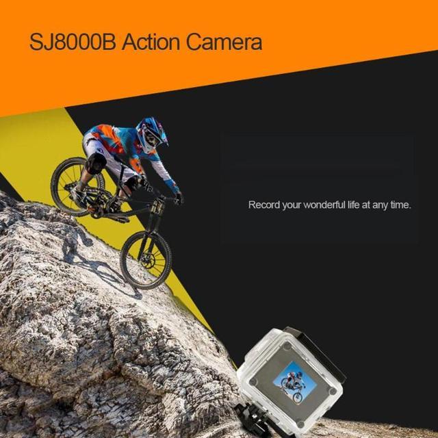 SJ8000B Somy 179 CMOS Action Camera 4K WIFI 1080P HD 16MP 4X Zoom Helmet Cam 30m Waterproof 170 Degree Wide Angle Lens Sports DV 3
