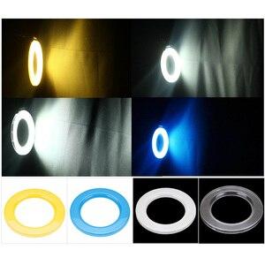 Image 3 - Andoer RF 550D Macro LED anneau Flash Flash Speedlite pour Canon Nikon Sony Olympus Pentax GN15 Flash lumière