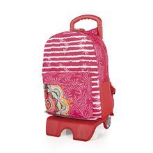 5dd5f7d6571 Lois Modelo Mandala Mochila Escolar Infantil Con Carro Trolley Extensible  De Poliester Color Rosa 55491
