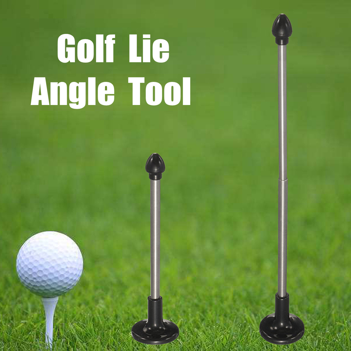 Golf Magnet Lie Angle Tool Face Aimer Adjustable Alignment Correction Training Aid Rod Trainer Beginner Outdoor Sports Accessory