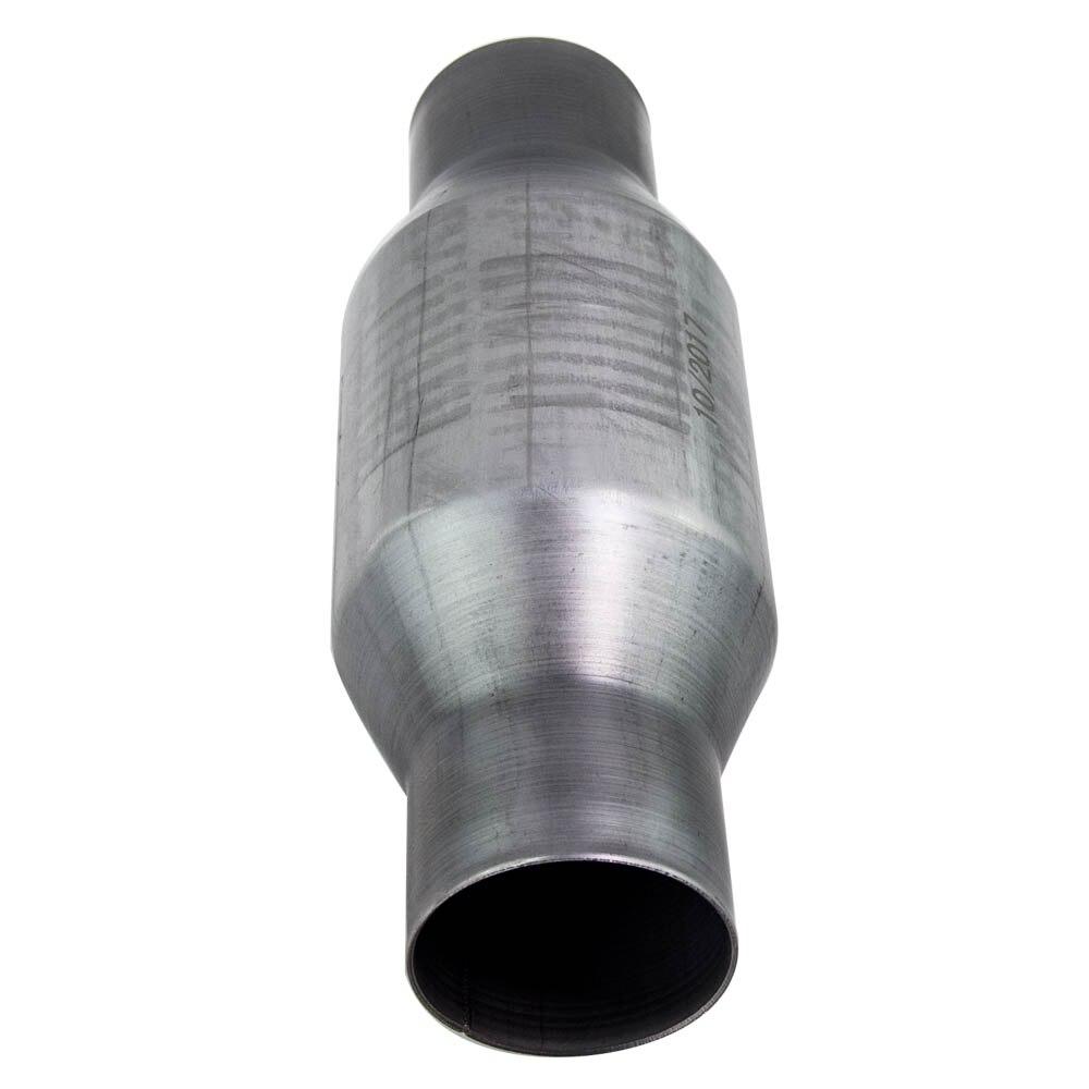410250 2.5 pouce pour convertisseur catalytique universel en acier inoxydable à haut débit en acier inoxydable 100 200 cellule - 3