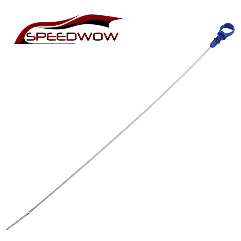 SPEEDWOW Engine Stainless Steel Oil Dipstick For Peugeot 206 307 406 607 Citroen C5 2.0 HDI Fluid Level Measure Dip Stick