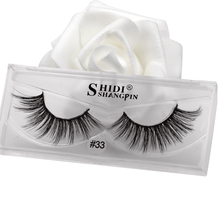 New volume mink eyelashes plastic cotton stalk cruelty free 1 pair 3d full strip lashes makeup