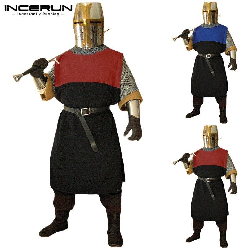 a8ad3d03ea0e Hombres Medieval renacimiento Guerrero Caballero Heraldry Surcoat ...