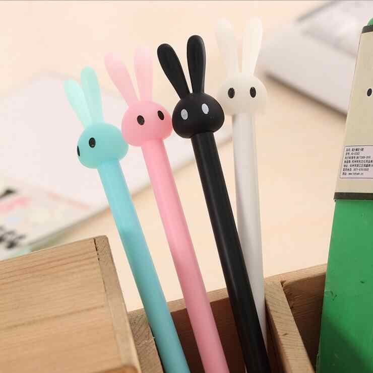 Ellen Brook 1 Stück Koreanische Schreibwaren Cartoon Niedlichen Kaninchen Stift Werbung Kreative Schule Büro Liefert Gel Stifte Geschenk