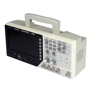 Image 4 - Hantek DSO4102CดิจิตอลOscilloscope USB 100MHz 2 ช่องสัญญาณLCDแสดงผลคลื่นรูปแบบ