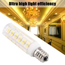 76LED Lamp Bulb Dimmable Energy Saving Ceramic Corn 5W 220V LED