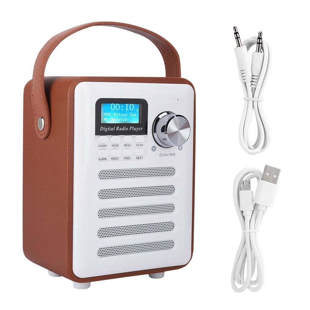 Intelligent Digital Fm Radio Digital Linternet Radio Tragbare Fm Dab Dab Radio Mini Tf Bluetooth Lautsprecher Radd1 Unterhaltungselektronik
