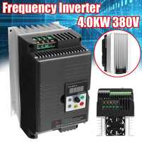 1PC 4KW 380V 3 Phase Output Variable Frequency Drive Inverter VFD Motor Converter