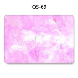 Image 2 - Für Notebook MacBook Abdeckung Laptop Fall Sleeve Für MacBook Air Pro Retina 11 12 13 15,4 Zoll Mit Screen Protector tastatur Abdeckung
