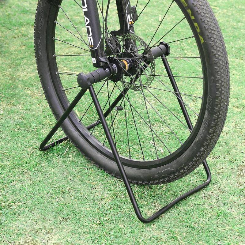MTB Bike Bicycle Stand Floor Storage Rack Wheel Hub Repair Holder Parking