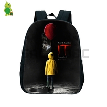 Horrible Penny Wise It Backpack Toddler School Bags for Kids Boys Girls Primary Kindergarten Backpacks Children Book Bags