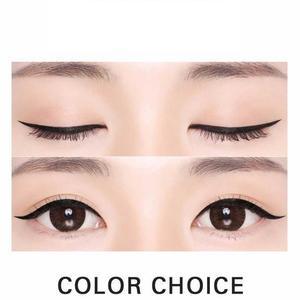 Image 3 - NOVO eyeliner beauty makeup beginners waterproof and sweat not dizzy catch wine red brown liquid eyeliner pen