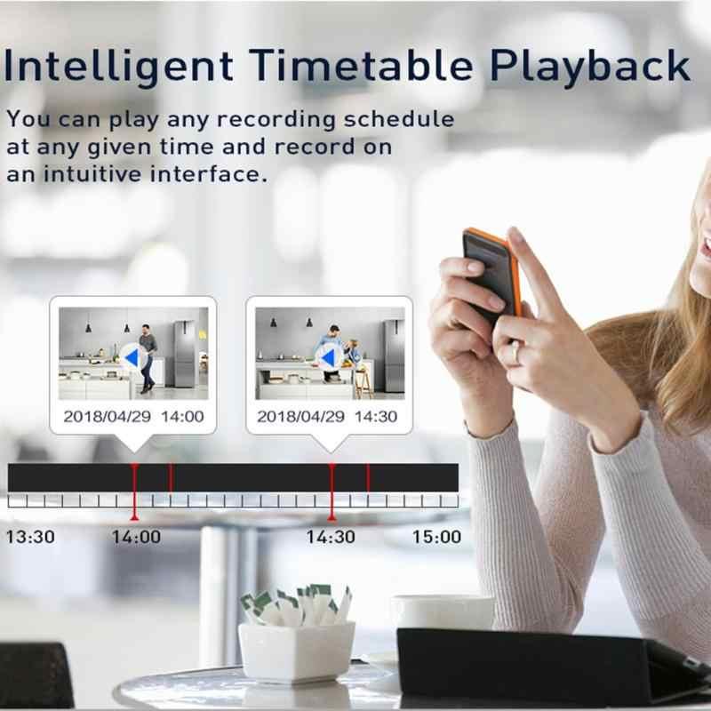Hiseeu 4CH 1080P Беспроводная система видеонаблюдения 2 шт. 2MP Водонепроницаемая wifi ip-камера IR ночного видения система видеонаблюдения Комплект