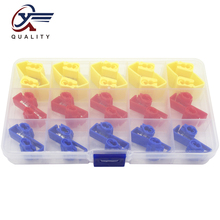 цена на 30 pcs/box fast clip terminals clamps Quick Splice Wiring Connector Cable Clamp wire connector Clip Wire Maintenance Tools