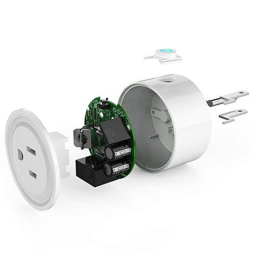 Alexa głosowe rozrządu bezprzewodowy inteligentne gniazdo WiFi aplikacji mobilnej wtyczki zdalnego sterowania