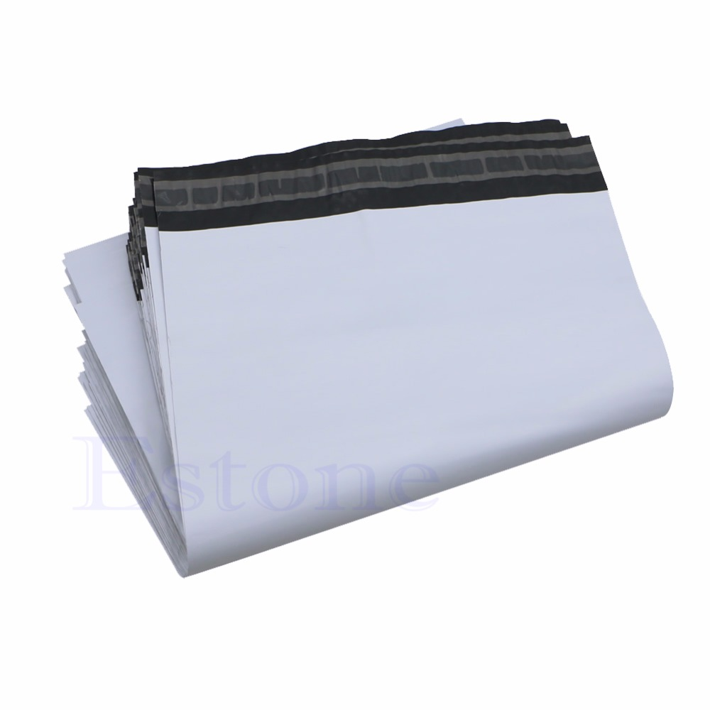 100Pcs  25*34 Cm Poly Mailer Self Sealing Plastic Shipping Mailing Bag Envelope