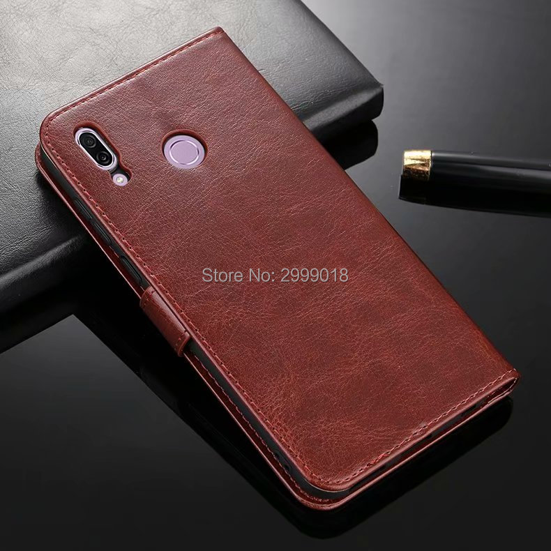 the best attitude 7be09 23389 Huawei Y6 2019 Case Flip Luxury Wallet PU Leather Back Cover For Huawei Y6  Prime Pro 2019 Y 6 2019 ...