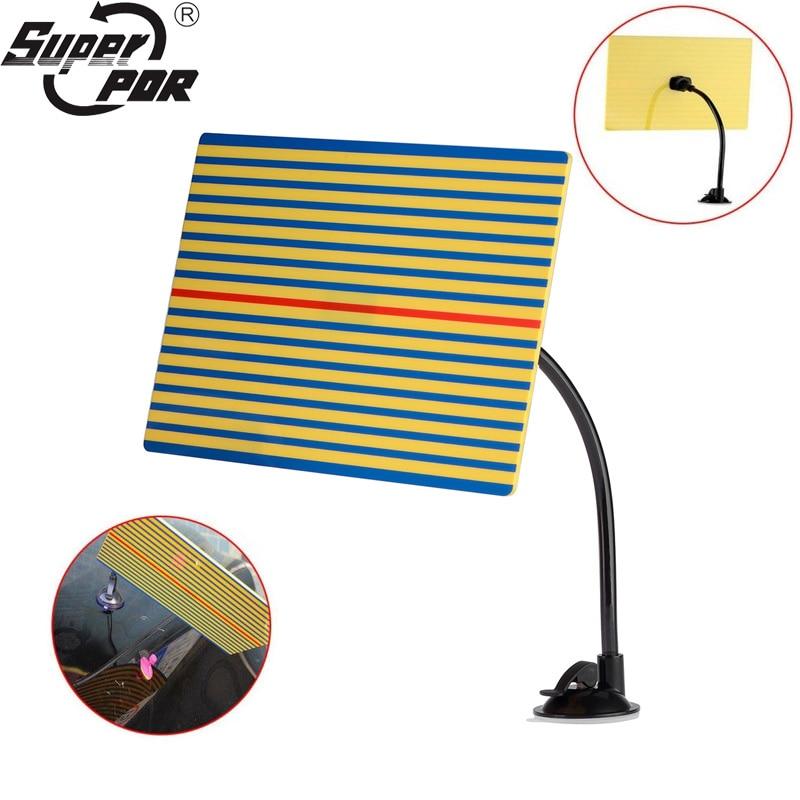 Super PDR Paintless Dent Repair Reflector Line Board Dent Removal Tools Best PDR Lamp Reflector Board Hand Tools Set Ferramentas