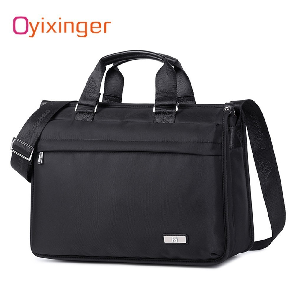 74660ed1bbc5 OYIXINGER 2019, новая мода для мужчин сумки Портфели Бизнес ноутбук мужские  сумки через плечо Офис