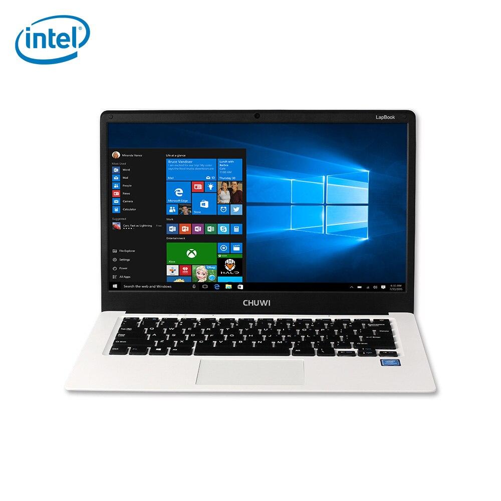 CHUWI LapBook 14.1 inch Windows 10 FHD Screen Notebook Intel Apollo Lake Celeron N3450 Quad Core 4GB RAM 64GB ROM HDMI WiFi