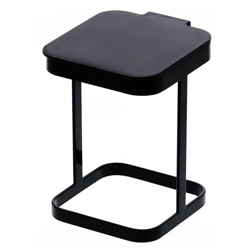 Biuro mały kosz na śmieci kosz na śmieci biurkowy może odwróć pokrywkę salon papierowy kosz przechowywanie w domu stół Mini w Kosze na śmieci od Dom i ogród na title=