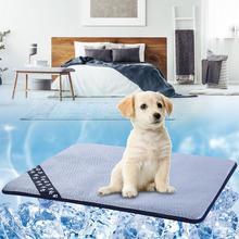 b129af7967e5 Perro de verano de Mat colchón refrigerador Mat para gato de peluche cama  del perro de hielo de verano cojín pequeño mediano gra.