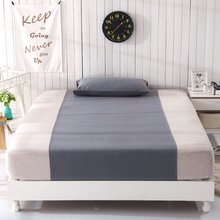 Grounded Half bed sheet 90*270cm with 1 pillow case Health sleep Conductive Grounding  earth energy