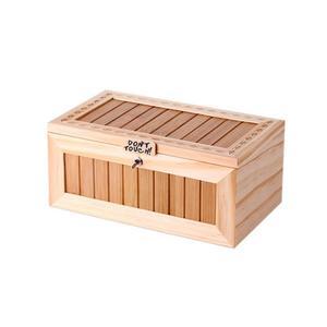 Image 2 - Scatola di legno elettronica indispensabile tigre carina giocattolo divertente regalo per ragazzo e bambino giocattoli interattivi decorazione da scrivania con riduzione dello Stress