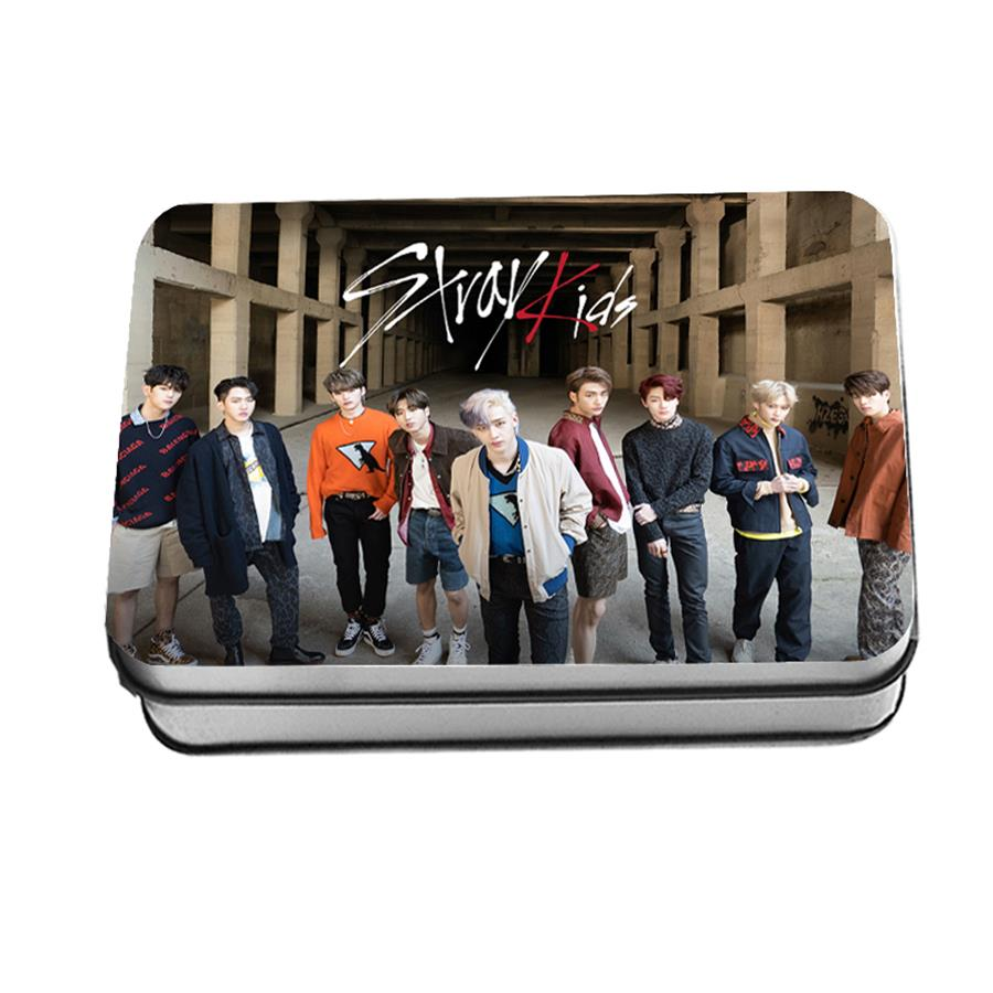 US $8 36 7% OFF|Kpop Stray Kids Clé 1 : MIROH Polaroid Lomo Photo Card New  Album Collective Photocard Poster 40pcs-in Jewelry Findings & Components