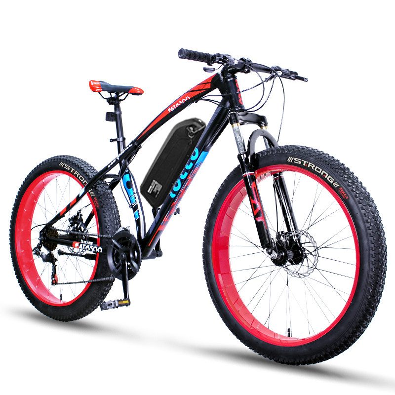 Daibot Powerful Electric Bike 2 Wheels Electric Scooters 26 inch 1500W 48V MTB Offroad Portable Adult Electric Kick Scooter