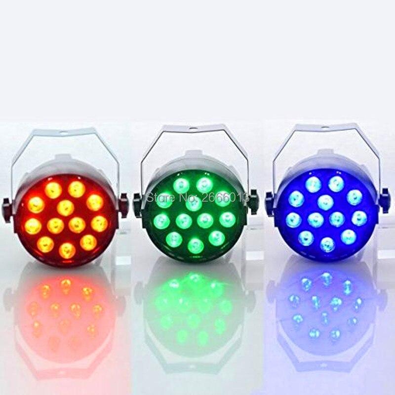 3pcs/lot 12X3W RGB 3in1 Par Light /DMX512 Auto Sound Control LED Stage Light/DJ Lighting /Disco Christmas Home Party LED Lamps