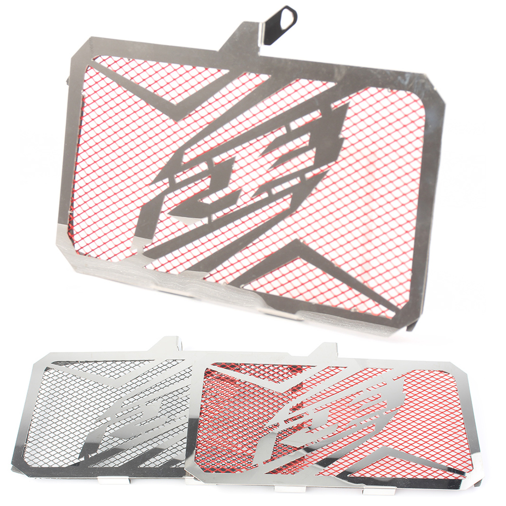 Motorcycle Radiator Guard Grill Grille Cover Protector For YAMAHA YZF R3 YZF-R3 2015-2016 Stainless Steel