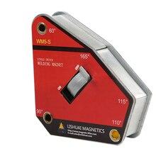 Одиночный переключатель мульти-угол Магнитный сварочный держатель/сильный вкл/выкл неодимовый магнит сварочный зажим WM5-S