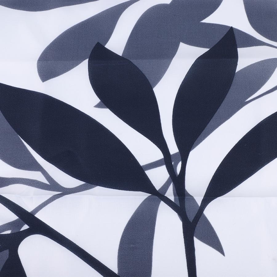 Big Leaf Printing Shower Curtains Bath Curtain Durable Waterproof Bathroom Curtain 2019 new style