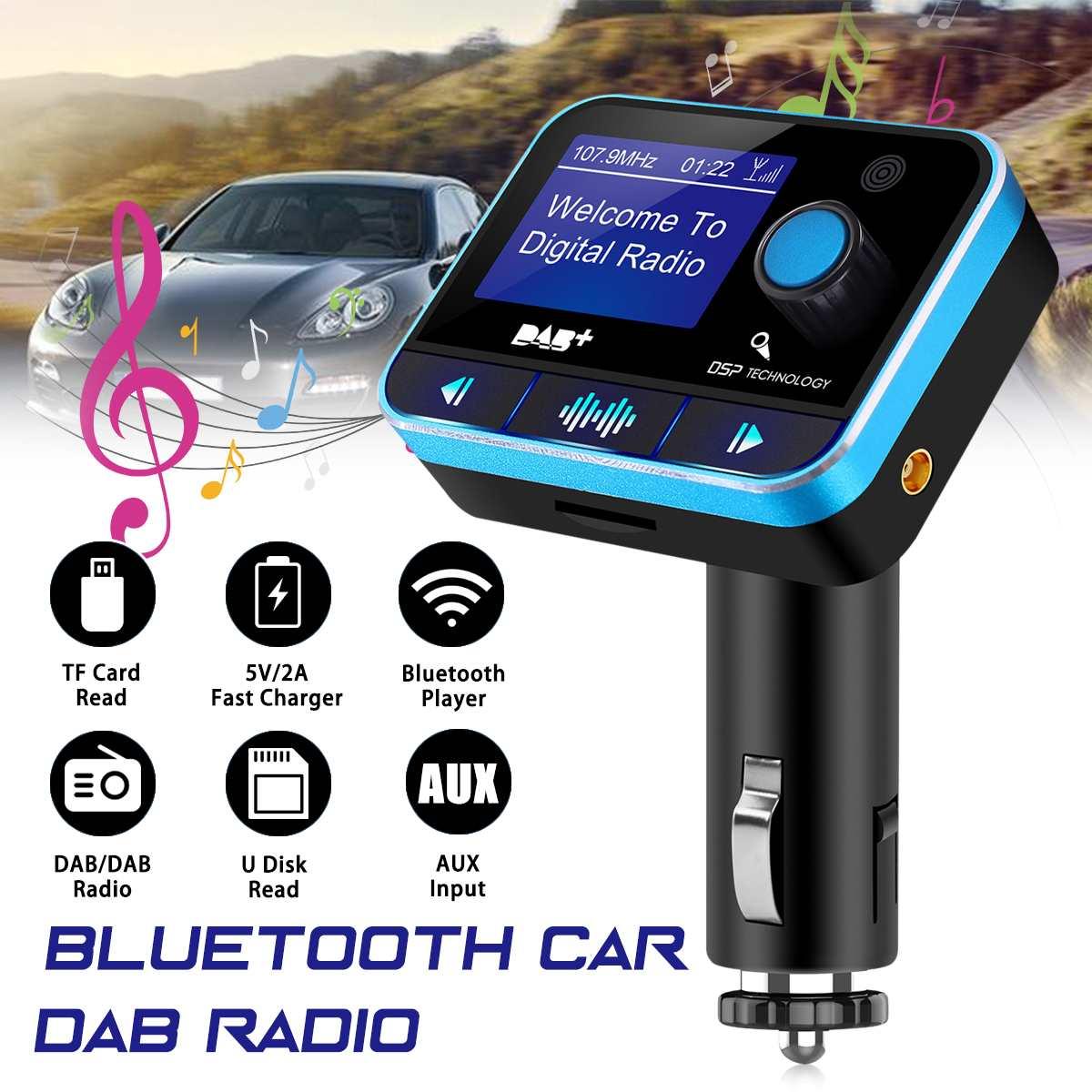 dab digital radio receiver fm tuner radio car bluetooth 4 2 transmitter adapter fm dav dab tuner. Black Bedroom Furniture Sets. Home Design Ideas