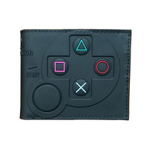 Hot 3D Designs Games Purse Anime Cartoon Playstation PVC Wallets for Students Boy Girl Money Coin Holder Short Wallet lovely cartoon wallets games super mario world printed purse fashionable gift kids boy girl leather short wallet w478