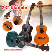 23 Inch 4 Strings Concert Ukulele Hawaiian Mini Guitar Acoustic Guitar Mahogany Ukelele Guitar Instrument with Bag Gift